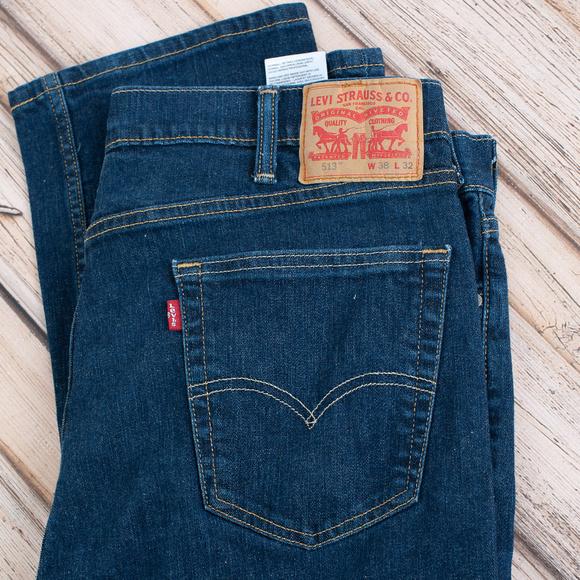 Levi's Other - LEVIS slim straigh fit men's dark jeans